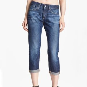 Ag Adriano Goldschmied Piper Crop Slouchy Jeans